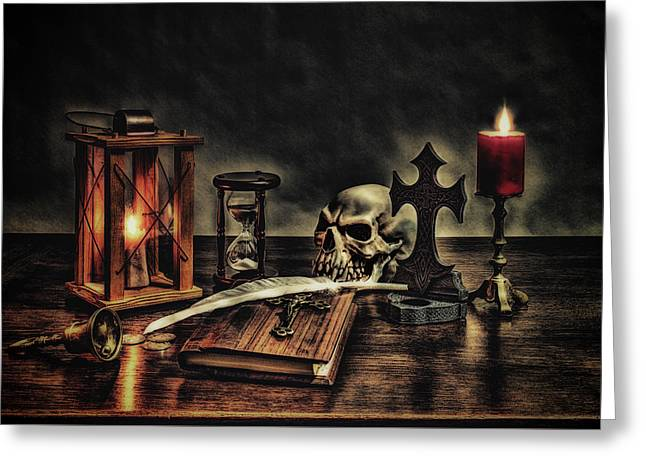 The Grim Reapers Diary Greeting Card