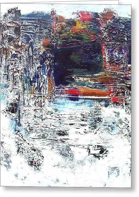 The Grotto Greeting Card by Jane Robinson
