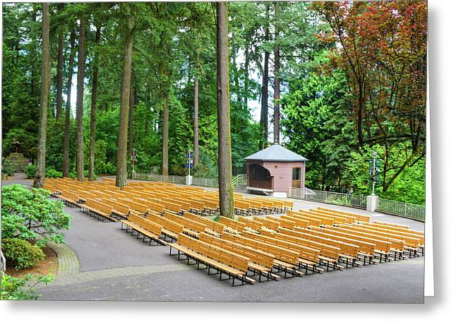 The Grotto Open Space, Prayer Place Greeting Card