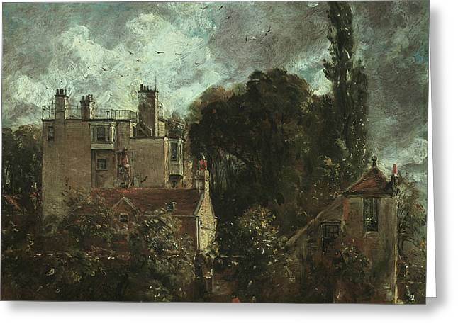 The Grove Or The Admiral's House In Hampstead Greeting Card by John Constable