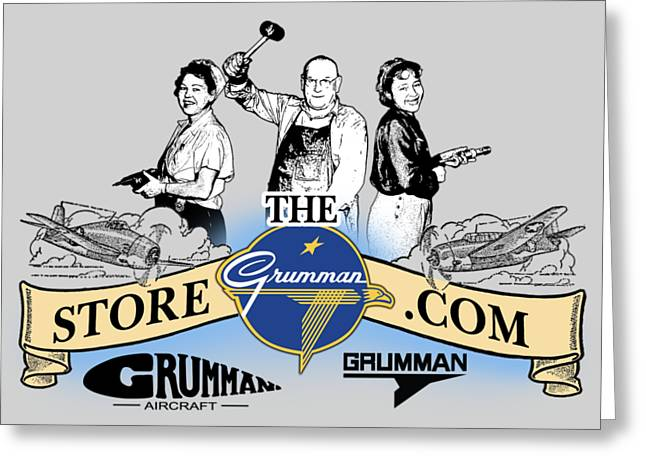 The Grumman Store Greeting Card