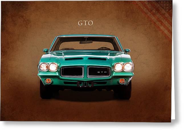 The Gto Greeting Card by Mark Rogan