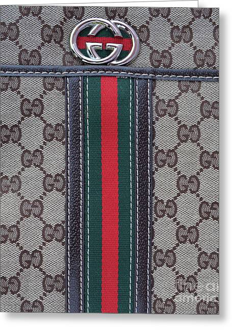 The Gucci Monograms Greeting Card