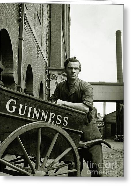 The Guinness Man Greeting Card