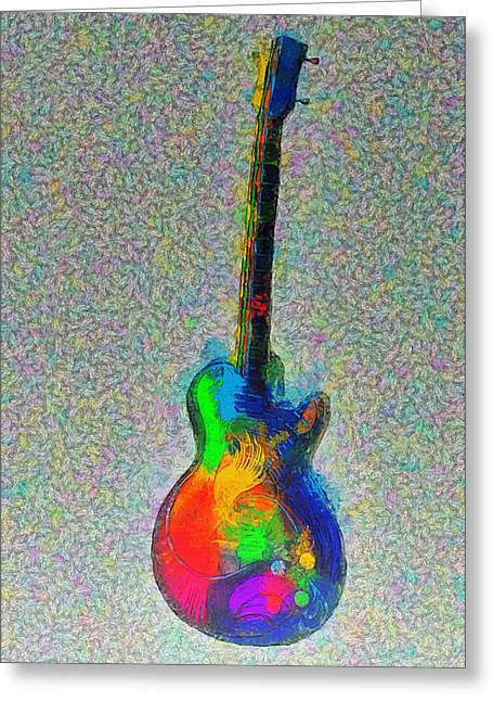 The Guitar - Pa Greeting Card