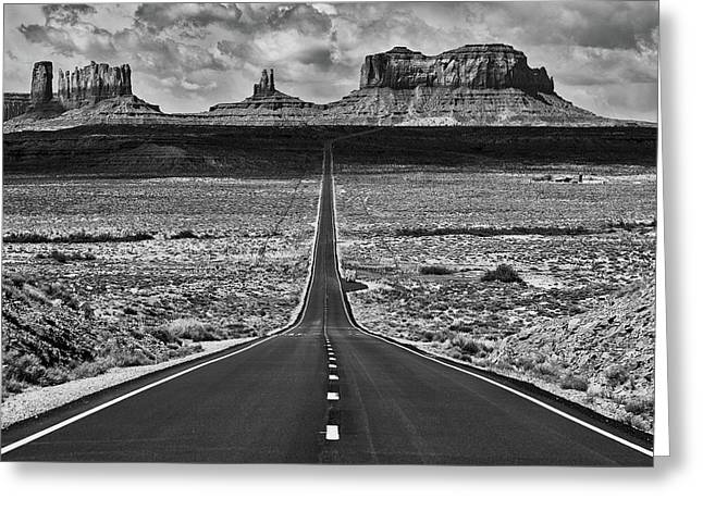 The Gump Stops Here Greeting Card by Darren White