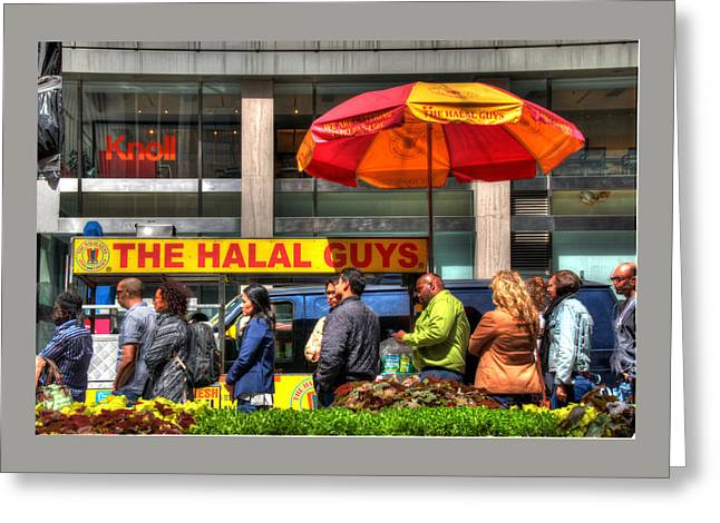 The Halal Guys Greeting Card