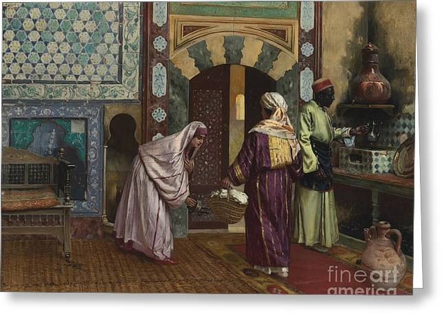 The Hammam Greeting Card