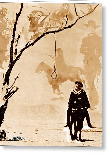 The Hangman's Tree Greeting Card by Seth Weaver