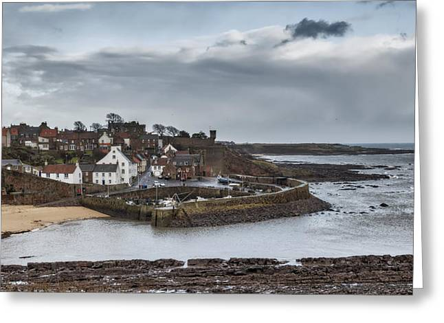 The Harbour Of Crail Greeting Card by Jeremy Lavender Photography