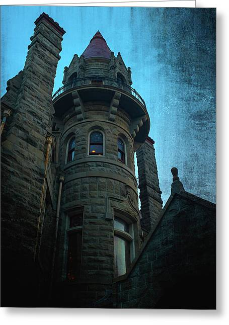 The Haunted Tower Greeting Card