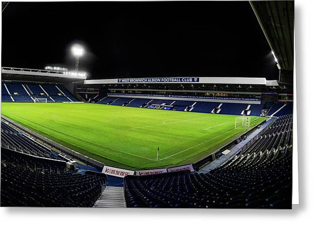 The Hawthorns East Stand Corner Greeting Card by Blitz Photos