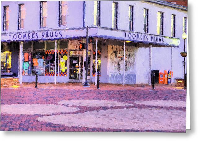 The Heart Of Auburn Greeting Card by JC Findley