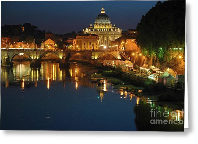 Greeting Card featuring the photograph Eternal Sound Of Rome by Silva Wischeropp