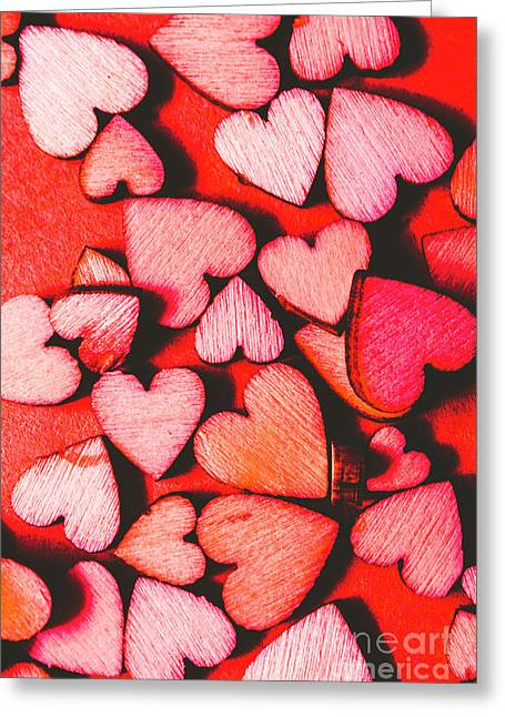 The Heart Of Decor Greeting Card by Jorgo Photography - Wall Art Gallery