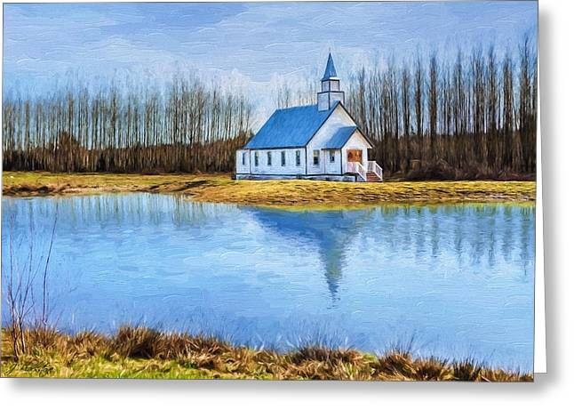 The Heart Of It All - Landscape Art Greeting Card