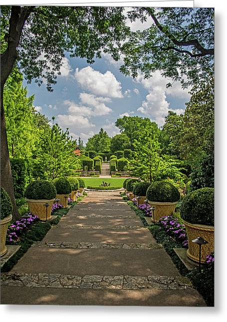 The Heart Of The Arboretum Greeting Card