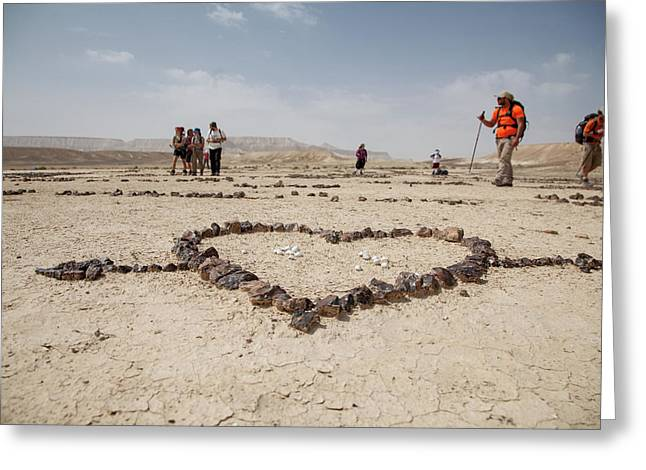 The Heart Of The Desert Greeting Card