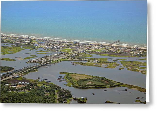 The Heart Of Topsail Island Greeting Card