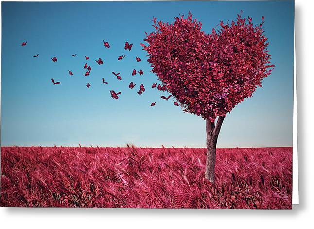 The Heart Tree Greeting Card