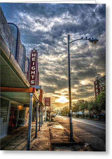 The Heights At Morning Light Greeting Card by TK Goforth