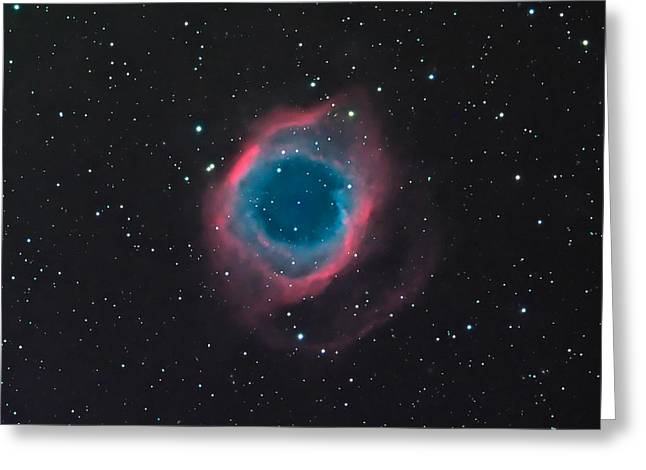 The Helix Nebula Greeting Card by William Carter