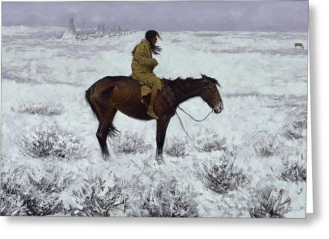 The Herd Boy 1905  Greeting Card