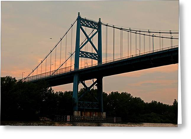The High Level Aka Anthony Wayne Bridge I Greeting Card