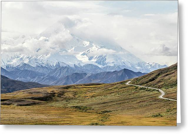 The High One - Denali Greeting Card