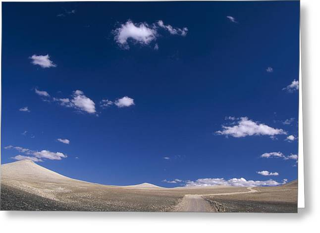 The High Road - White Mountains Greeting Card