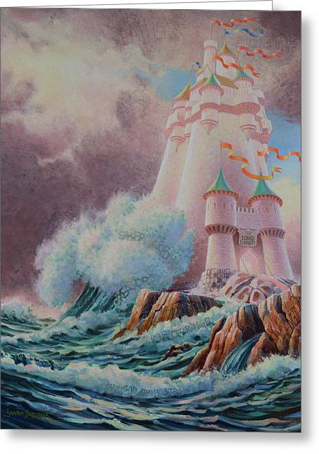 The High Tower Greeting Card