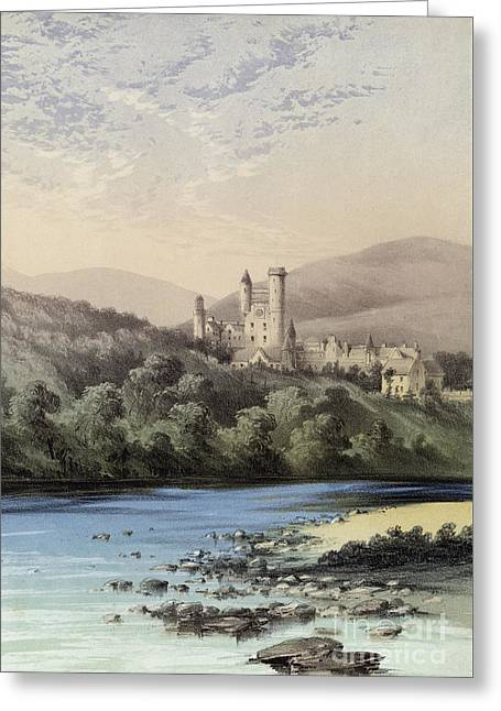The Highland Home, Balmoral Castle Greeting Card