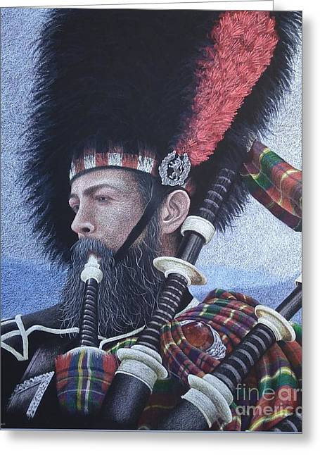 The Highlander Greeting Card