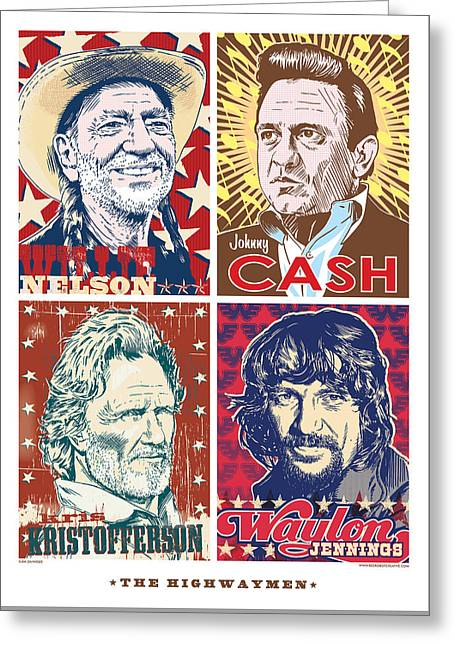 The Highwaymen Greeting Card