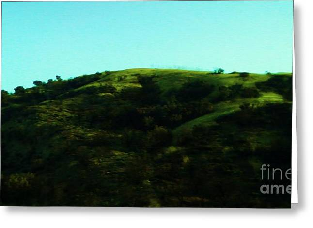 The Hills Greeting Card by Jamey Balester