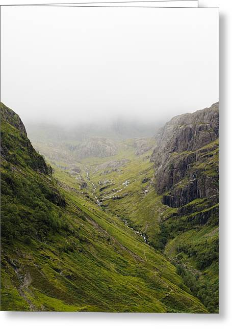 Greeting Card featuring the photograph The Hills Of Glencoe by Christi Kraft