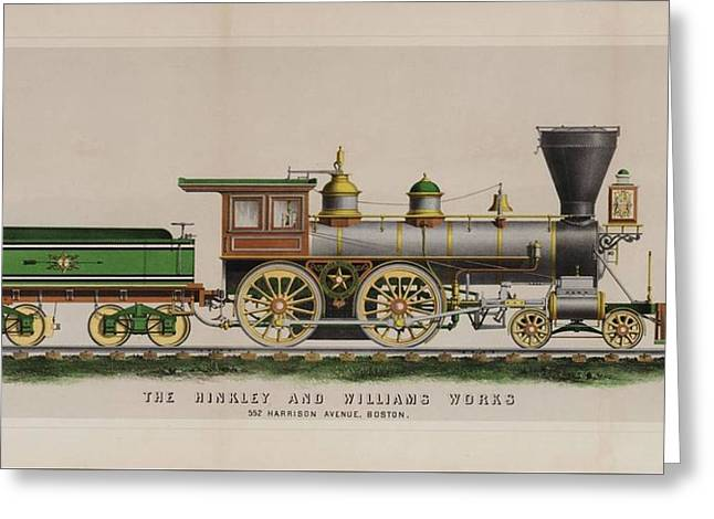 The Hinkley And Williams Works Greeting Card