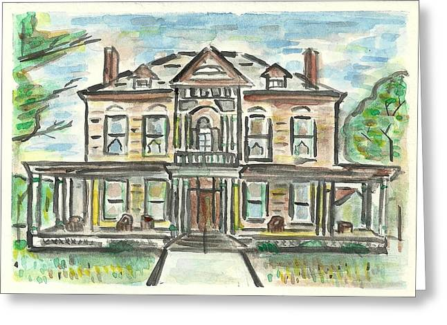 The Historic Dayton House Greeting Card