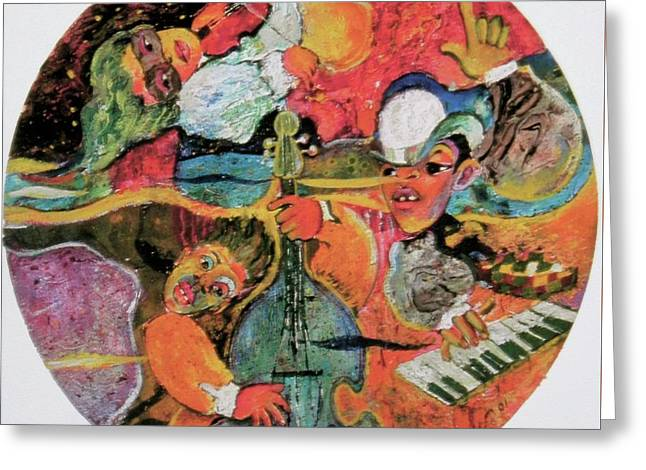 The Holland Jazz Trio Greeting Card