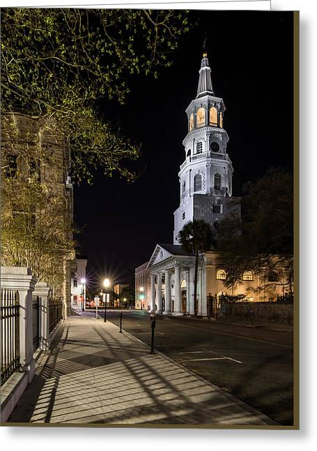 Greeting Card featuring the photograph St. Michael's Episcopal Church by Carl Amoth
