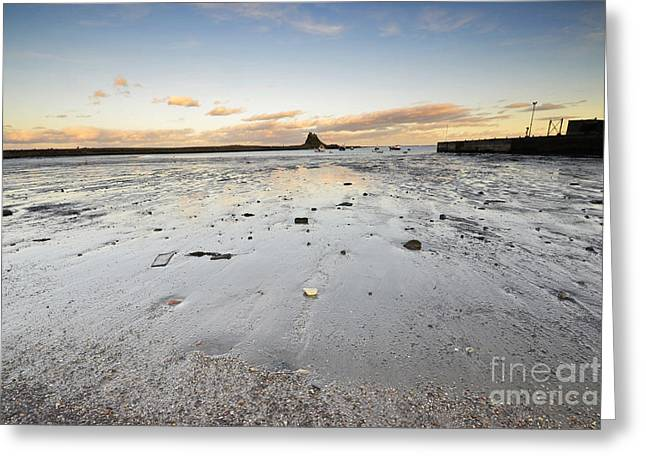 The Holy Island Of Lindisfarne Greeting Card