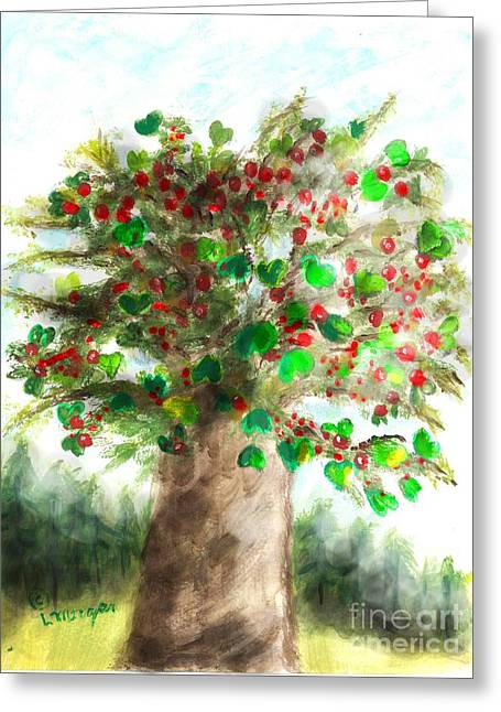 The Holy Oak Tree Greeting Card