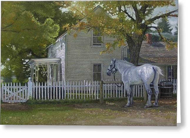 The Home Place Greeting Card by Michael Wilson