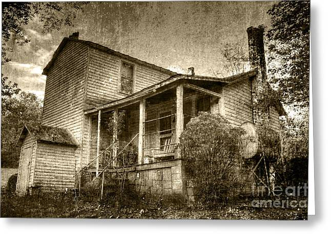 Greeting Card featuring the photograph The Home Place by Pete Hellmann