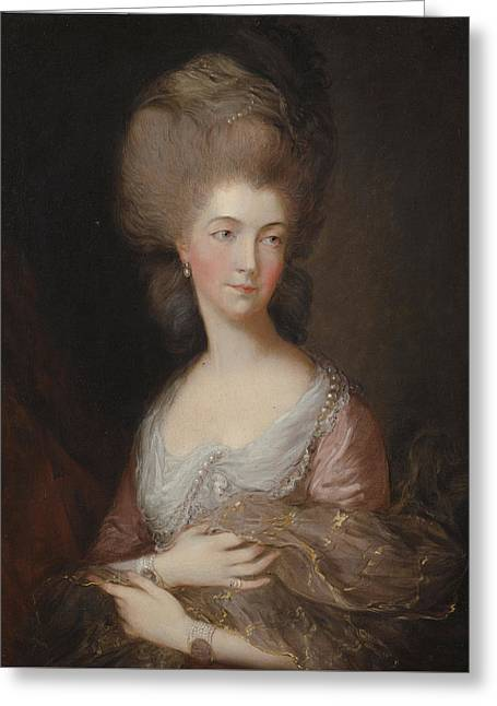 The Hon Mrs Anna Luttrell Duchess Of Cumberland  Greeting Card