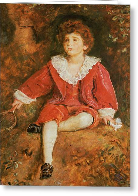 The Honorable John Neville Manners Greeting Card by John Everett Millais