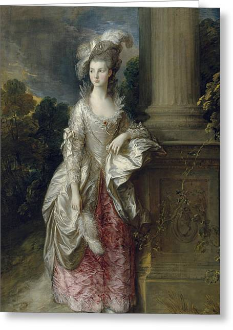 The Honourable Mrs Graham  Greeting Card by Thomas Gainsborough