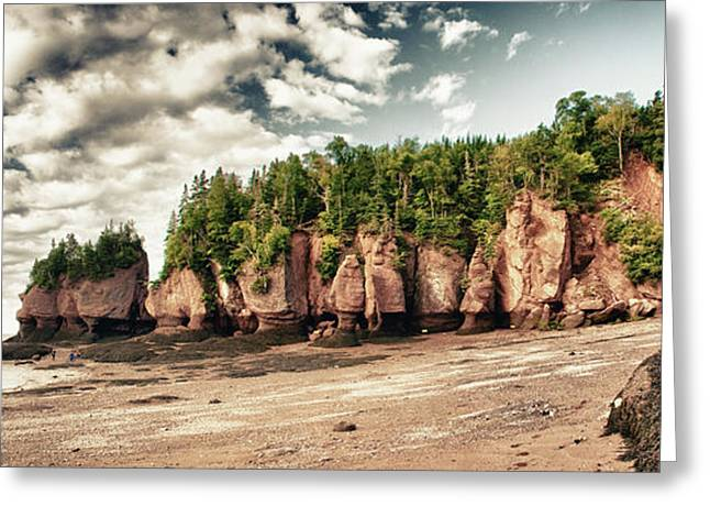 The Hopewell Rocks Greeting Card