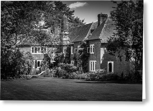 Greeting Card featuring the photograph The House At Beech Court Gardens by Ryan Photography