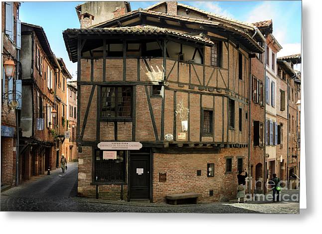 The House Of The Old Albi Greeting Card by RicardMN Photography